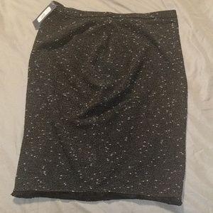 Downeast Textured Pencil Skirt
